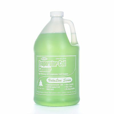 ComStar 90-910 Valuline Self-rinsing Neutral pH Evaporator Coil Cleaner, 1 gal