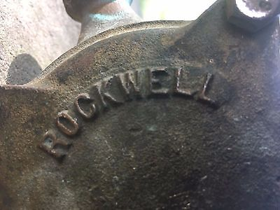 Old Rockwell Brass Water Meter 5/8