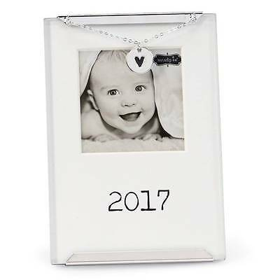 Mud Pie 2017 Clip Frame with Heart Charm - DISCONTINUED