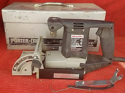 FREE SHIPPING! Porter Cable Plate Joiner Model 556 with Original Metal Case