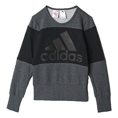 Adidas Climalite Girls Sweatshirt- Jumper - Pullover 7-8 YEARS ONLY