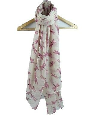 Daydream Dragonfly Print Scarf Flying Chic Dragonflies Womens Dragon fly Wrap