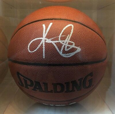 Kyrie Irving Signed Spalding Basketball Autograph RARE Uncle Drew Cleveland Cavs