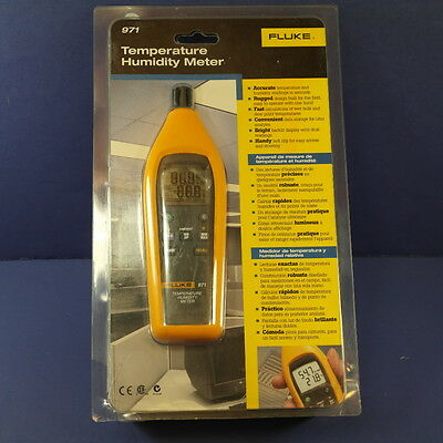 New Fluke 971 Temperature Humidity Meter, See Details!