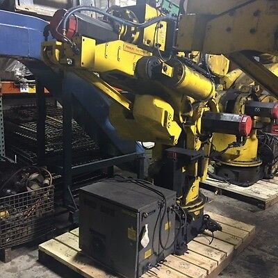 Fanuc S-420iF, 6 Axis Robot w/RJ2 Control, Pendant, Mfg: 1996-7, Used, WARRANTY
