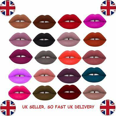 Lip Gloss Makeup Matte Lipstick Long Lasting Waterproof Liquid 12 Colours Velvet