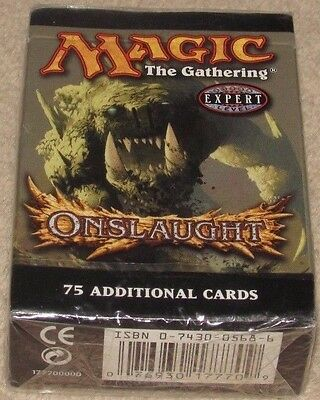1x MTG Onslaught Tournament Pack, NEW, Factory Sealed, English