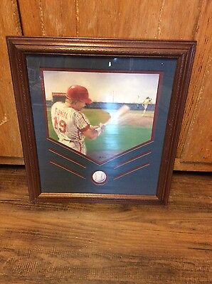 homco Home Interiors Baseball player on the Diamond print/Picture