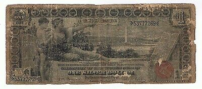 U.s. $1.00 Large Size Educational Silver Certificate Note Fr#225