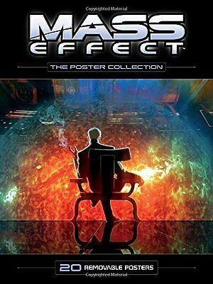 Mass Effect - the Poster Collection by Various Paperback Book New