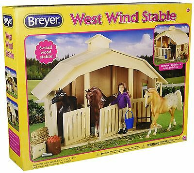 Breyer West Wind Stable Toy NEW