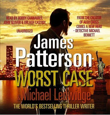 Book : Worst Case by Patterson  James CD-Audio New