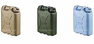 SCEPTER MILITARY WATER CANS Jerry Container Camping Survival Emergency 20L