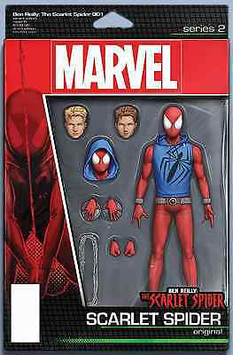 Ben Reilly Scarlet Spider 1 Jt Christopher Action Figure Variant
