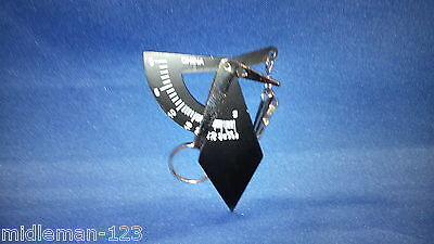 Hand held pocket postal scale keychain 100 grams/4 oz
