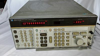 HP Agilent 8662A Low Distortion Signal Generator 1280MHz