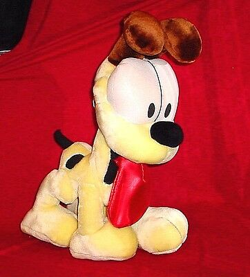 "NEW Large Plush Odie 24"" Garfield Stuffed Animal Dog Jim Davis Comic Doll Toy"
