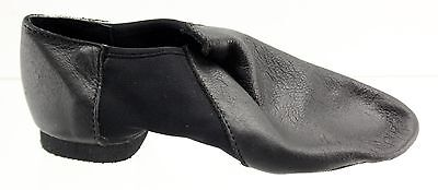 New With Box Girl's SO DANCA Black Jazz Dance Shoes Size 11