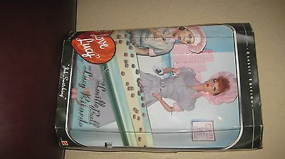 I Love Lucy Barbie Episode 39 Job Switching Lucille Ball Doll Mattel 1998
