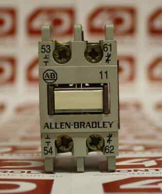 Allen Bradley 195-FA11 AUXILIARY CONTACT 10AMP 660VAC - Used - Series A