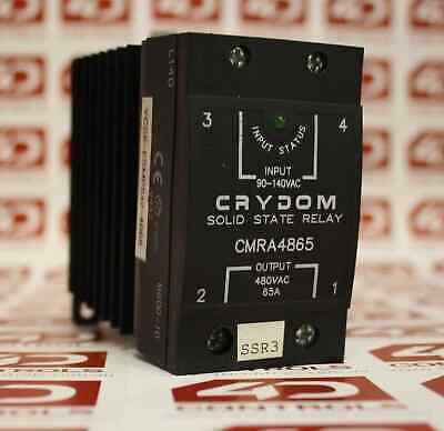 Crydom CMRA4865 Solid State Relays - Industrial Mount DIN SSR 530VAC/65A 90-1...