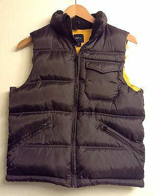 GAP KIDS Boys Green & Yellow Puffer Vest Size Large 10