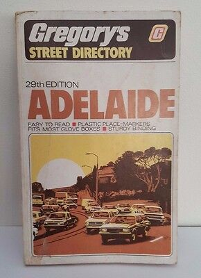Gregory's Adelaide Street Directory - 29th Edition