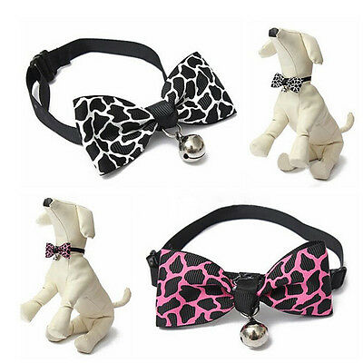Fashion Adjustable Bow Tie Collar Necktie Bowknot Clothes For Pet Dog Cat Hot BL