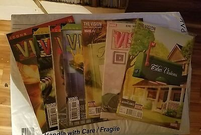 LOT OF 7- Vision Comics ( 2 3 12, and icons 1-4