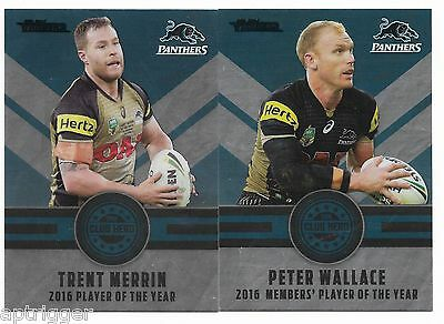 2017 NRL Traders Club Heroes (CH 21 & 22) MERRIN / WALLACE Panthers