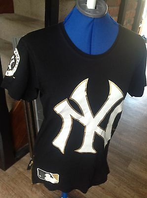 Ladies - Black & White NBA New York Yankees  SX XS official T/Shirt / Top