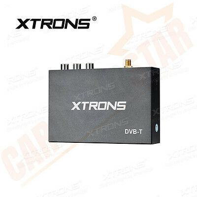 XTRONS FV009 DVB-T Mobile In Car Freeview Digital TV Box Receiver Tuner Antenna
