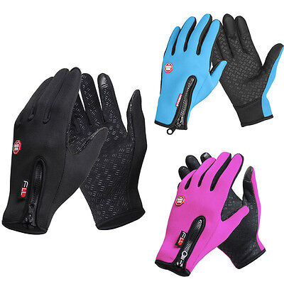 Racing Sports Bike Bicycle MTB Motorcycle Full Finger Gloves Bicicletta Guanti