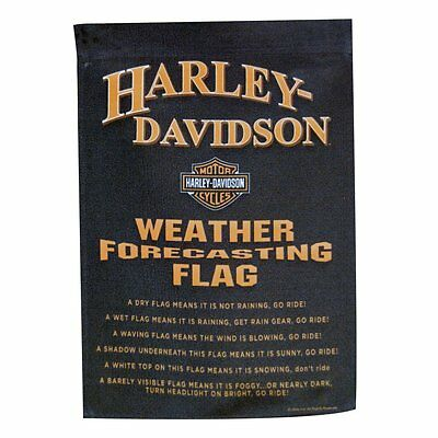HD Harley-Davidson Weather Forecast Garden Flag