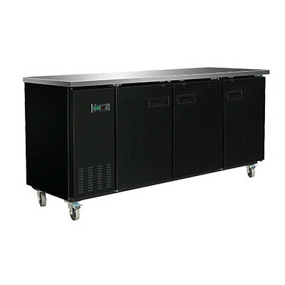 Maxx Cold MXBB90 3 Section Refrigerated Back Bar