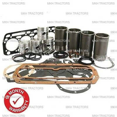 Engine Overhaul Kit Fits David Brown 1200 1210 1212 995 996 Tractors