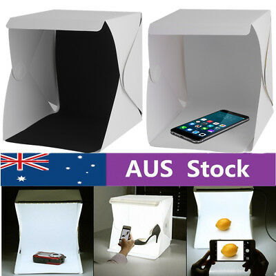 LED Light Room Mini Photo Studio Photography Lighting Tent Kit Backdrop Box GT
