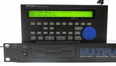 Miditemp MP22-W Multiplayer Midiplayer MP22W  Top-Zustand + GEWÄHR