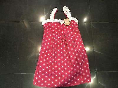 NWT Juicy Couture New & Gen. Ladies Pink Cotton Maternity Sun Dress UK 8/10