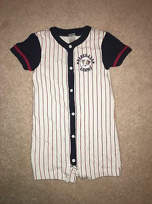 Gymboree Boys Romper Outfit Shortall Size 3T
