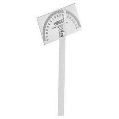 General Tools 17 Square Head Protractor Stainless Steel *