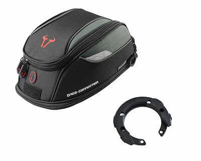 SW Motech Bags Connection Daypack Tank Bag + Evo Tank Ring Triumph Tiger 800 XCX