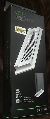 Gioteck VC1 White Vertical Stand XBOX ONE S XB1S NEW SEALED