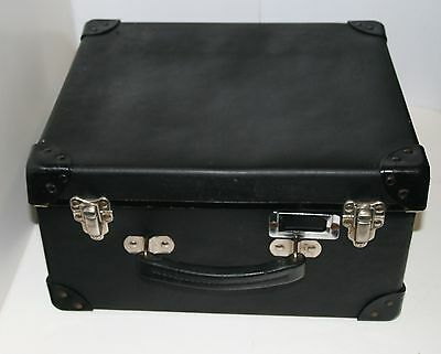 Vintage Military Navy Uniform Cap Occasional Hat Box Carrying Case Small Luggage