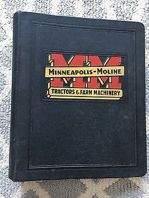 Vintage Minneapolis Moline Tractor & Farm Machinery Binder Twin City Hit Miss