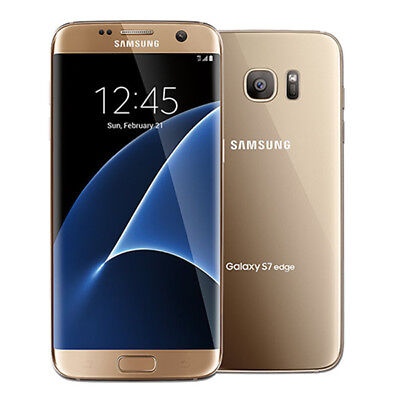 Samsung Galaxy S7 edge SM-G935F 32GB - Gold - Unlocked - 12 Months Warranty