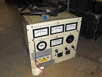 Unitron CR054-3 17509 Power Frequency Converter 50/60 to 400 Hz 5 kVA w/ Cable