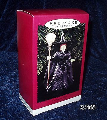 NEW & Mint 1996 Hallmark Wicked WITCH of the WEST The Wizard of OZ Ornament