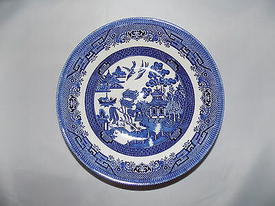 Churchill Blue Willow Serving Bowl Round