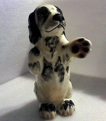 English Springer Spaniel Figurine - Clay Sketches - Pasadena  Could Be Door Stop